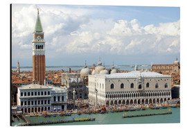 Aluminium print  St. Mark's Square on the Grand Canal - Lynn Seldon