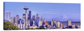 Canvas print  Seattle skyline - Jamie & Judy Wild