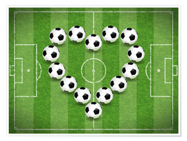 Poster  Love for Soccer - TAlex