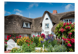 Forex  Amrum -  thatched house with flower garden - Reiner Würz RWFotoArt