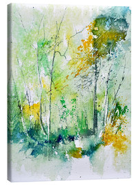 Canvas print  watercolour forest - Pol Ledent