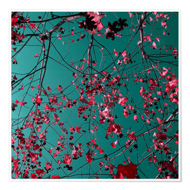Premium poster Autumn Tree, Abstract I