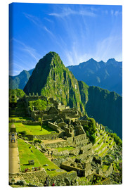 Canvas print  Inca city Machu Picchu - Jerry Ginsberg