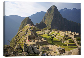 Canvas print  View of Machu Picchu - Kymri Wilt