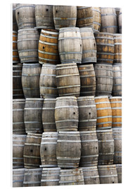 Foam board print  Wine barrels - Dennis Flaherty