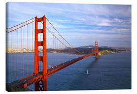 Canvas  Golden Gate Bridge - Chuck Haney