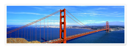 Poster  The impressive Golden Gate Bridge - Ric Ergenbright