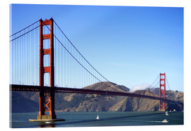 Acrylic print  Golden Gate Bridge - Jim Goldstein
