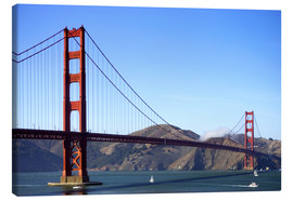 Canvas print  Golden Gate Bridge - Jim Goldstein