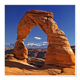 Premium poster Arches National Park in Utah