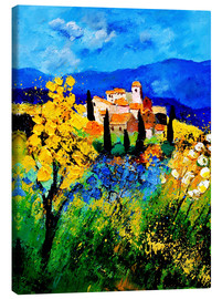 Canvas print  Village in Provence - Pol Ledent