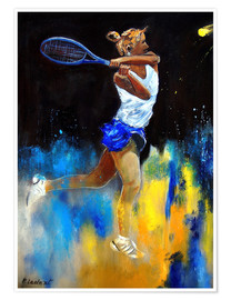 Premium poster Tennis player