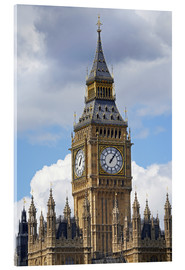 Acrylic glass  The Big Ben and the Palace of Westminster - David Wall