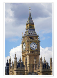Premium poster Big Ben and Westminster Palace