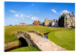 Acrylic print  Golf course in St. Andrews - Bill Bachmann