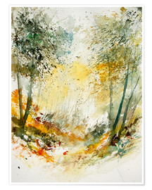 Premium poster The forest in autumn