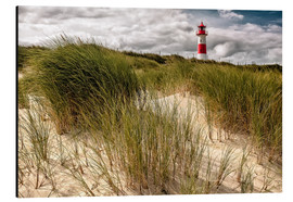 Aluminium print  Lighthouse List East (Sylt) - Dirk Wiemer