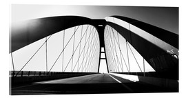 Acrylic print  Fehmarnsund Bridge, Germany - Falko Follert