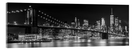 Acrylic print  New York City Skyline - Melanie Viola