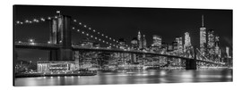Aluminium print  New York City Skyline - Melanie Viola