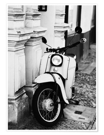 Premium poster Vintage scooter