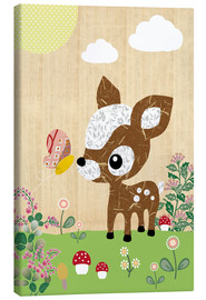 Canvas print  Deery - GreenNest
