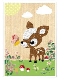 Poster  Deery - GreenNest