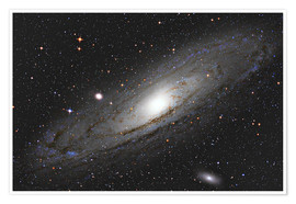 Premium poster  Andromeda Galaxy M31 I - Alexander Voigt