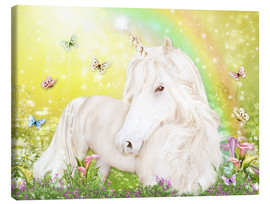 Canvas print  Unicorn of Happiness - Dolphins DreamDesign