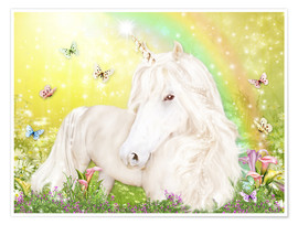Premium poster Unicorn of Happiness