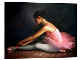 Acrylic glass  Ballerina 1 - Yoo Choong Yeul