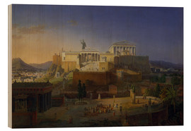 Wood  The Acropolis of Athens, 1846 - Leo von Klenze