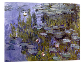 Acrylic print  Water Lilies (Nympheas) - Claude Monet
