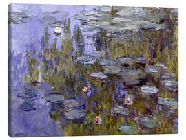 Canvas print  Water Lilies (Nympheas) - Claude Monet