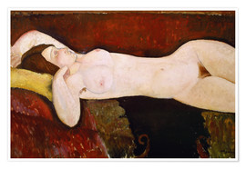 Premium poster Nude of a sleeping woman (Le Grand nu) 1917