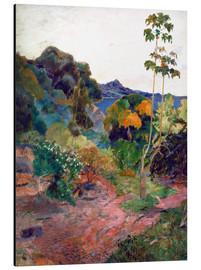 Aluminium print  Coastal landscape on Martinique - Paul Gauguin