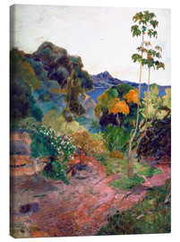 Canvas print  Coastal landscape on Martinique - Paul Gauguin