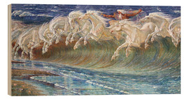 Wood  The Horses of Neptune - Walter Crane