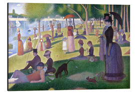 Alu-Dibond  A Sunday Afternoon on the Island of La Grande Jatte - Georges Seurat
