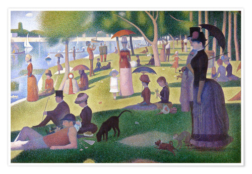 Premium poster A sunday afternoon on the island of La Grande Jatte