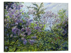 Aluminium print  Blossoming lilac. About 1921 - Max Slevogt