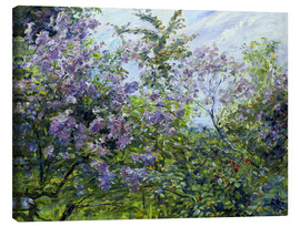 Canvas  Blossoming lilac. About 1921 - Max Slevogt