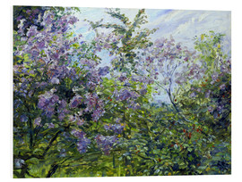 Foam board print  Blossoming lilac. About 1921 - Max Slevogt