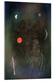 Acrylic glass  Learned in dealing with stars. - Paul Klee