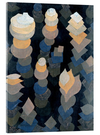 Acrylic glass  Growth of the night plants - Paul Klee