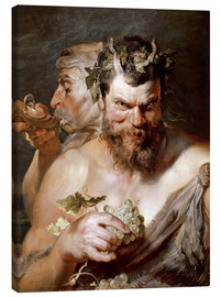 Canvas print  Two satyrs - Peter Paul Rubens