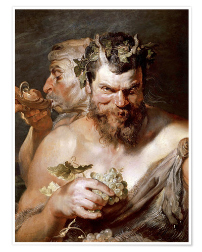 Premium poster Two Satyrs