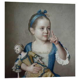 Forex  Girl with doll - Jean Etienne Liotard