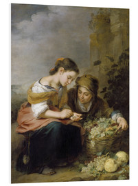 Foam board print  The Little Fruit Seller - Bartolome Esteban Murillo