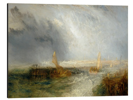 Aluminium print  East End - Joseph Mallord William Turner
